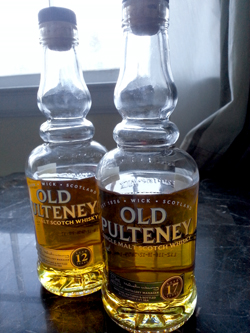 Old Pulteney 12 and 17