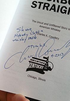 Chuck Cowdery's Book