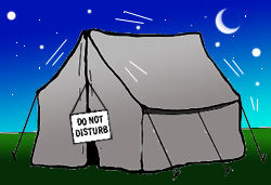 Tent Lovin