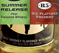 Hop Flavored Whisky