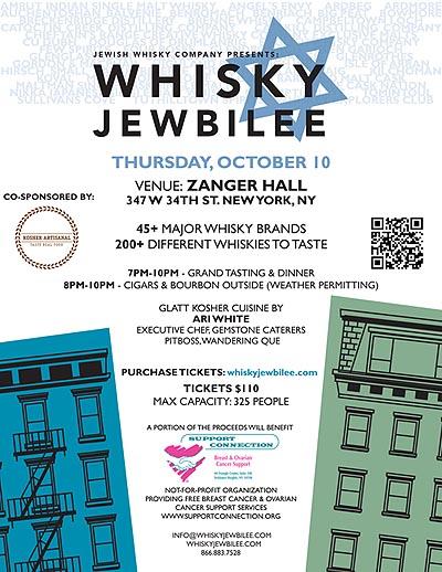 Whisky Jewbilee NYC