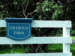 Hillrock Sign