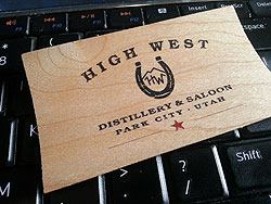 High West Card
