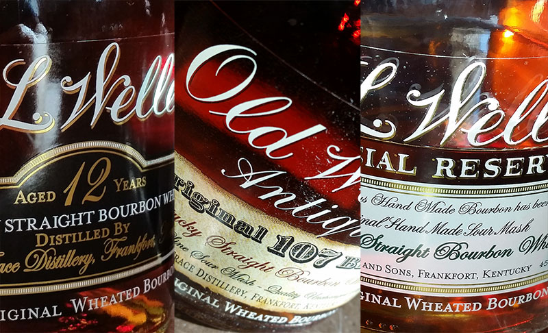 Weller Special Reserve vs Antique 107 vs 12 Year